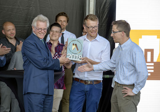 Netics - The Innovation Engineers wint Innovation Award ZHZ 2018
